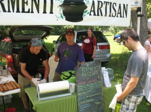 Fermenti Artisan at Irvington Farmer's Market