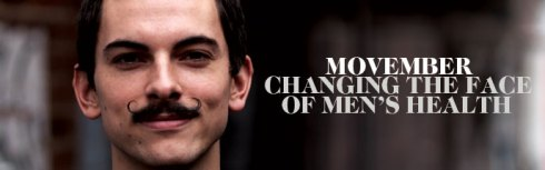 Growing mustaches for men's health