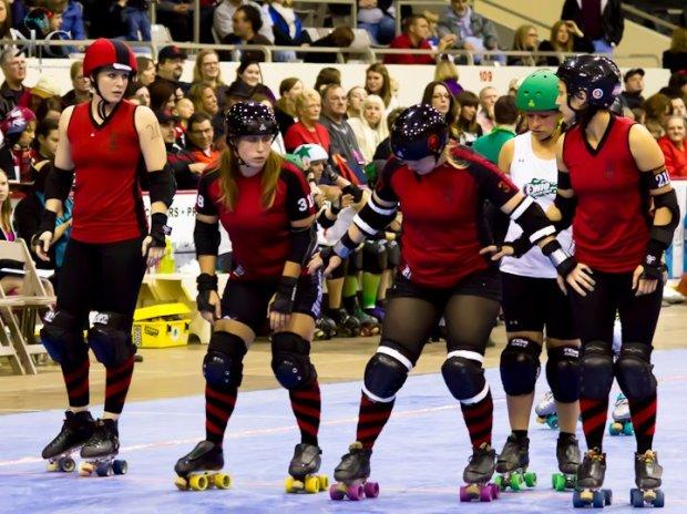 The best roller derby league in the WFTDA - Naptown Roller Girls