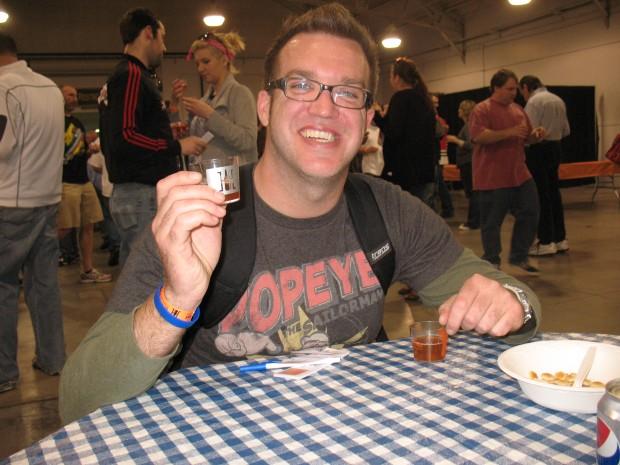 Brew Bracket blind taste testing of Indiana Microbrews