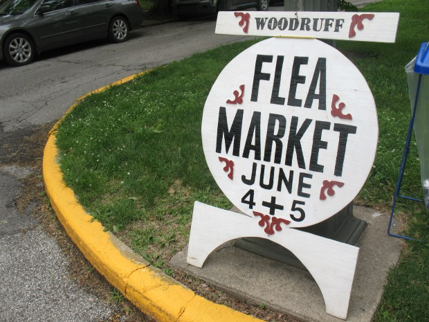The annual Woodruff Place Flea Market