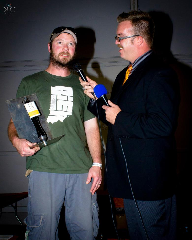 Interviewing Darrin the winner of Brew Bracket Stouts