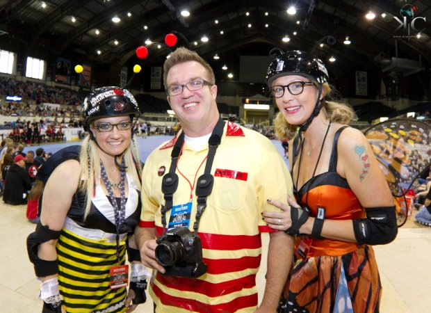 DoItIndy is a proud sponsor of the Naptown Roller Girls