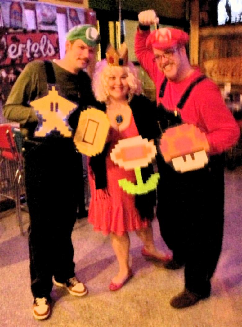 Mario Bros. Halloween Costume