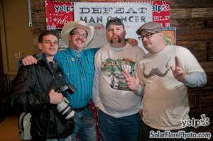 The DoItIndy crew of Movember 2012