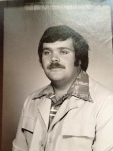 Doc Risinger rocks a great moustache