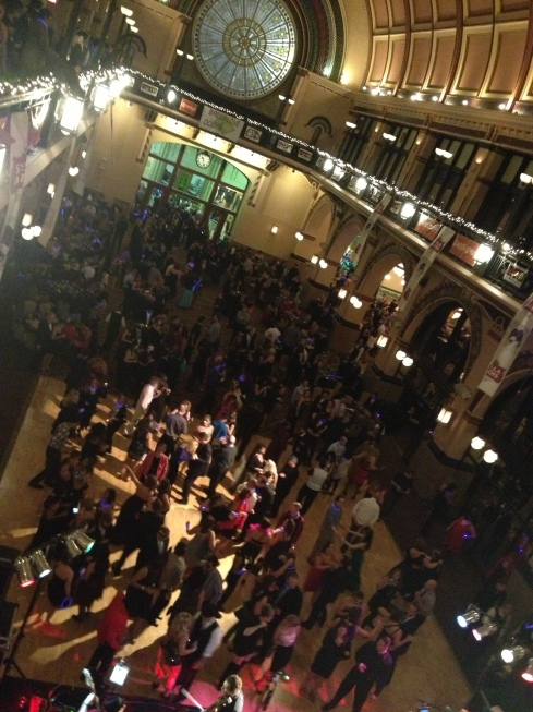 The year started off well with the amazing New Year's Eve Masquerade Ball at Union Station