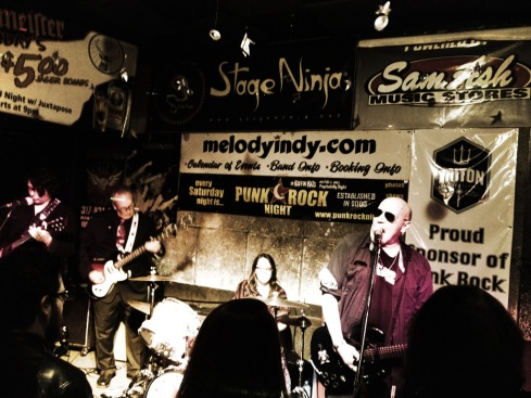 DoItIndy was a proud sponsor of the Norton Records benefit party with Cheetah Chrome and Deezen.