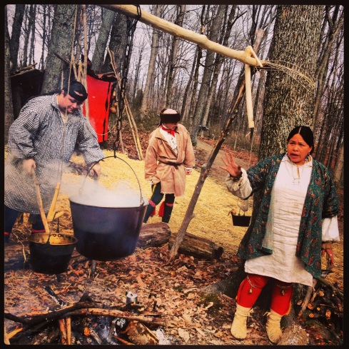 The Burton's National Maple Syrup Festival is amazing.