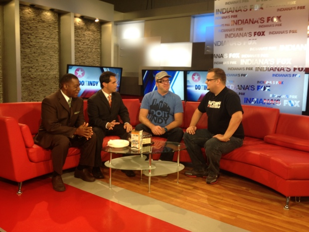 My final Saturday morning with Fox 59 and DoItIndy before moving to Grand Rapids. #BeUrban