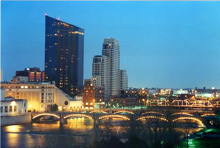 Grand Rapids Skyline - from Experience GR website.