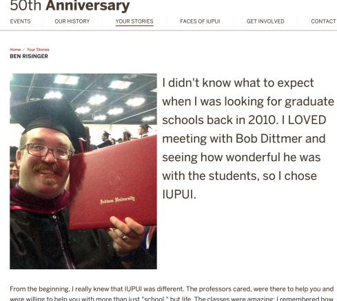 Ben Risinger IUPUI 50th anniversary.png